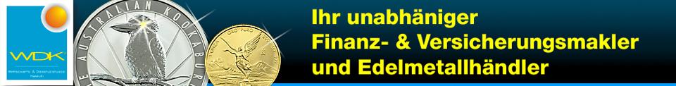 Finanz- & Versicherungsmakler und Edelmetallhändler
