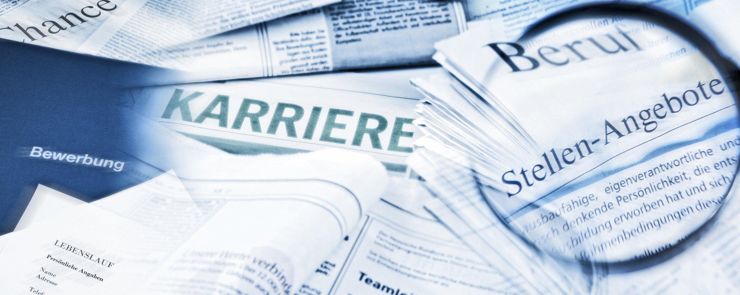 Stellenangebote Karriere Zeitung offene Stellen