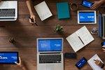 SaFiVe Gewerbeversicherungen Intventarversicherung - Computer mit Tastatur und Telefon