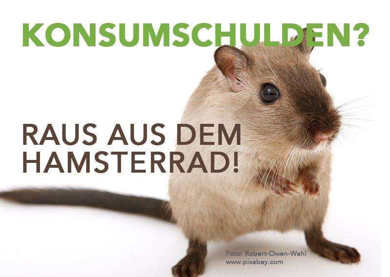 Konsumschulden - Raus aus dem Hamsterrad
