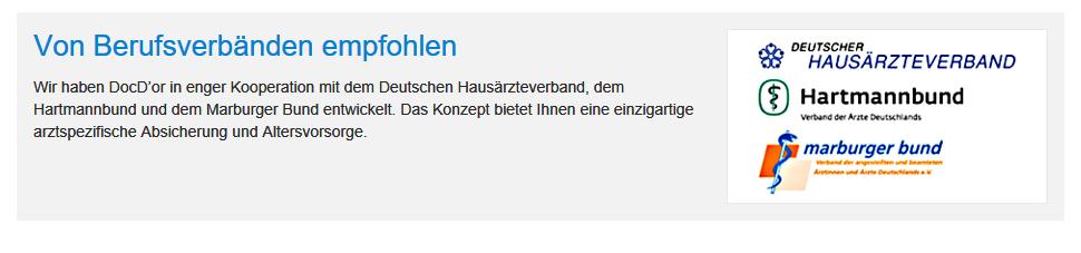 DocDor Verbandsprodukt Marburger Bund BU